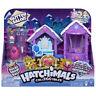 Nuevo Hatchimals Colleggtibles Purpurina Salón Parque Infantil con 2 Exclusivo