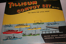 Tillicum Convoy Set No. T-104; Tiny Boats For Little Folks; Milton Bradley Co.