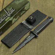"""6 3/8"""" Tactical Combat Double Edge Fixed Blade Dagger Survival Sheath Knife New!"""