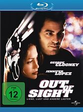 OUT OF SIGHT (George Clooney, Jennifer Lopez) Blu-ray Disc NEU+OVP