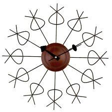 RETRO MID CENTURY MODERN Nelson STYLE Pretzel Clock