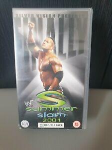 WWF Summerslam 2001 (VHS, Silver Vision)