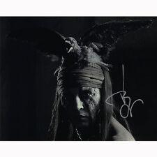 Johnny Depp - The Lone Ranger (32239) Authentic Autographed 8x10 + COA