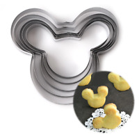 Mickey Mouse 5 Size Cookie Cutter Stainless Steel Mold
