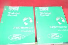 2004 Ford F-150 Heritage Truck Dealer Shop Manual MMPA
