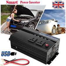 2000W Power Inverter 12V DC ~220V AC Power Converter for Van Tour Picnic Camper