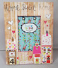 """Colourful Vintage Home Sweet Home Picture Photo Frame 4""""x6"""" Picture Gift Present"""