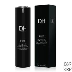 DrH Hyaluronic Night Moisturiser 50ml Cream PURE Anti Ageing skinChemists Skin