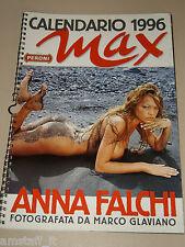 ANNA FALCHI=CALENDARIO MAX 1996=CALENDAR=FOTO=PHOTO=MARCO GLAVIANO=