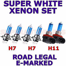 AUDI Q3 (2011 Onwards) H11  H7  H7 XENON SUPER WHITE LIGHT BULBS