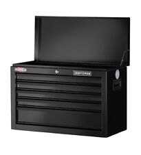 CRAFTSMAN 1000 Series 5-Drawer Lockable Ball-Bearing Steel Tool Box Chest Black