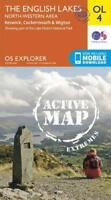 OS Explorer ACTIVE OL4 The English Lakes  North Western area (OS Explorer Map Ac