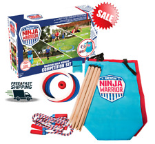 American Ninja Warrior Kids Adult Obstacle Course Kit Sport Competition Game Set