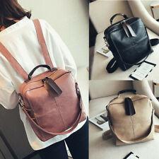 Womens Ladies Back Pack Bag School Travel Gym Shoulder Handbag Travel Backpack #