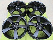 """18"""" NEW MAZDA RX8  SEMI-GLOSS BLACK OEM WHEELS/RIMS 2004-2011"""