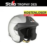 Helmet STILO Trophy DES Jet HANS SNELL XS S M L XL XXL XXXL FREE DELIVERY WORLD