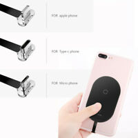 Wireless Qi Charger Receiver Charging Adapter For Micro Type C Android iPhone