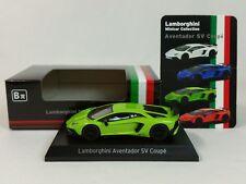 1:64 Kyosho Lamborghini Minicar Collection Aventador LP750-4 SuperVeloce SV Gn B