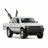 1:32 Toyota Hilux Pickup Truck Model Car Alloy Diecast Gift Toy Vehicle White