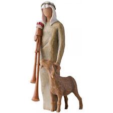 Willow Tree Nativity Collection Zampognaro (Shepherd with Bagpipe) Figurine