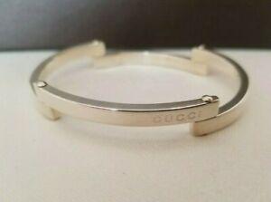 Gucci Silver Bangle / Bracelet 33.3g - VERY RARE