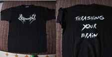 Aggression - thrashing your brain t-shirt spanish thrash,crisix angelus apatrida