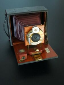 "CHAMBRE PHOTO 4""X5"" PONY PREMO D par ROCHESTER OPTICAL CO USA vers 1900"