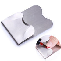 French Line Edge Guide Stainless Steel Trimmer  Nail Art Styling Tools