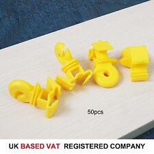 667113 50 Packs Electric Fence Spare Insulators Accessories Poly Tape Wire