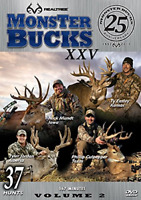 Realtree Outdoors Realtree Monster Bucks XXV DVD Volume 2