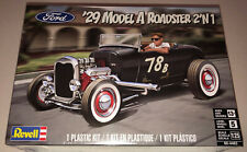 Revell 1929 Ford Model A Roadster 2in1 1:25 scale model car kit new 4463