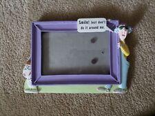 "Vintage Maxine & Floyd 4 X 6 Frame ""Smile! Just Don't Do It Around Me."""