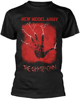 NEW MODEL ARMY The Ghost Of Cain BLACK T-SHIRT OFFICIAL MERCHANDISE