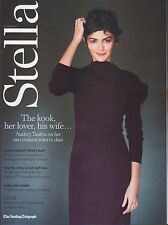 Audrey Tautou on Magazine Cover 8 June 2014