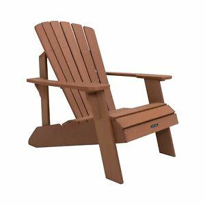 Lifetime Wood Alternative Adirondack Chair - Brown, 60064