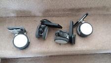 S/4 swivel 'Plako' wheels/casters (2 with brakes