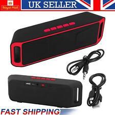 Altavoz Portátil Inalámbrico Bluetooth Sonido Estéreo Subwoofer Soporte TF FM USB Reino Unido