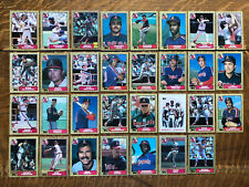 1987 CALIFORNIA ANGELS Topps COMPLETE Baseball Team Set 31 Cards JACKSON FINLEY!