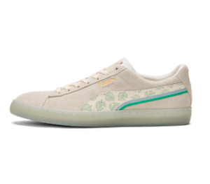 New Puma x Animal Crossing Suede Shoes Sneakers (38296201) - Whisper White