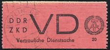 DDR-Dienst, MiNr. D 1 A I, sauber gestempelt, gepr. Paul, Mi. 75,-