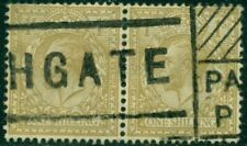 Great Britain Sg-429, Scott # 200 Horizontal Pair, Used, Very Fine, Great Price!