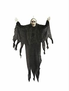 75 CM Halloween Scary Hanging GHOST SKELETON SKULL Grim Reaper Party Decoration