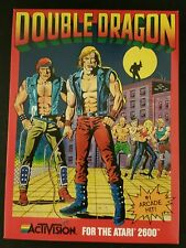 NEW Double Dragon Game for Atari 2600 PAL VERSION ( NOT FOR NTSC USA OR CANADA )