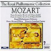 Piano Concerto 21, 23 (Rpo, O'hora, Carney), Wolfgang Amadeus Mozart, Audio CD,