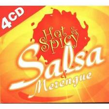 NEW - Hot & Spicy Salsa - 4 CD Box Set