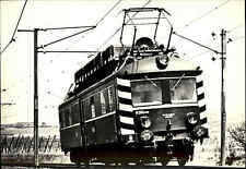 Eisenbahn Motiv-Postkarte CSSR ORT Wagen der CSD Railcar Bahn Zug AK ungelaufen