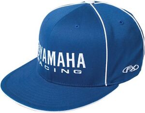 Factory Effex Yamaha Racing Flexfit Hat Cap Motorcycle ATV MX Supercross Blue
