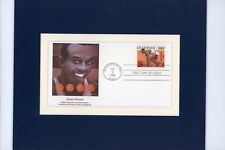 1936 Berlin Olympics  - Jesse Owens wins the Gold  & the First Day of his stamp