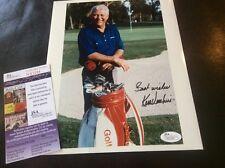 Ken Venturi Golf Autograph Photo US Open JSA Certification
