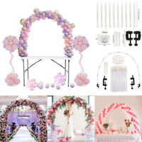 Ballon Bogen Set Spalte Stand Basis Frame Kit Geburtstag Hochzeit Party Decor